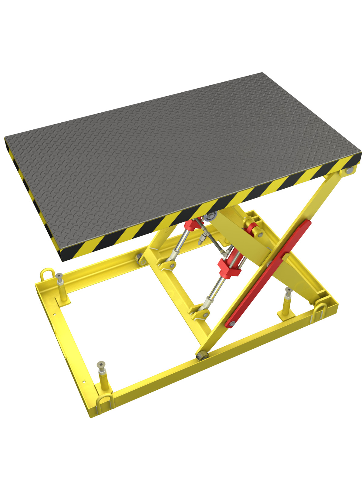 Diy Scissor Lift Table Download 3d And 2d Cad Complete