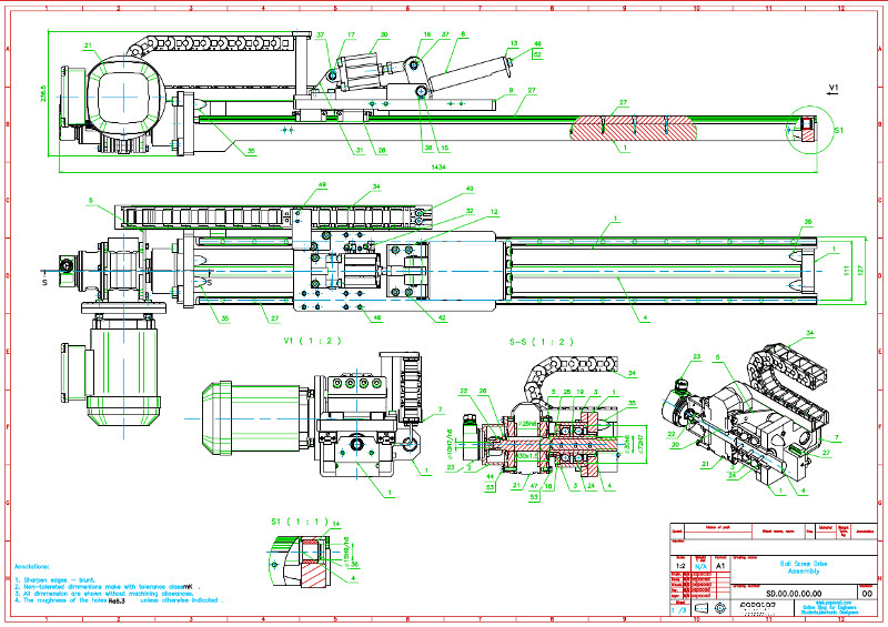 2d Cad Drawings Dwg Pdf Detailed Sections