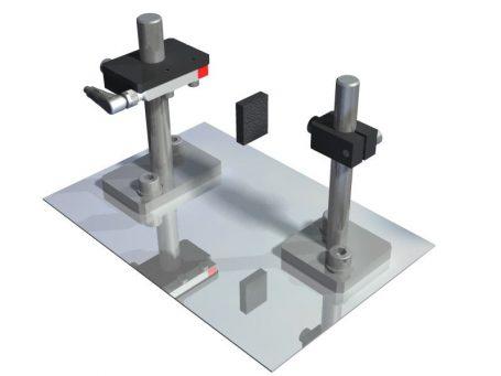 Sensor mounting - 3D CAD Models - 2D CAD technical drawings