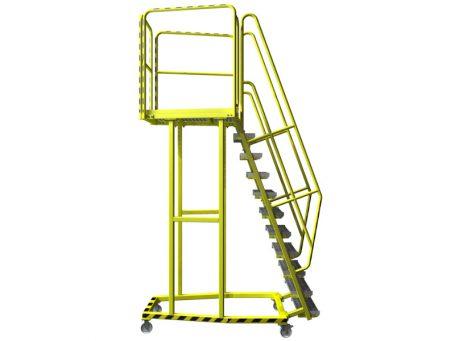 Platform ladder CAD design 3D CAD