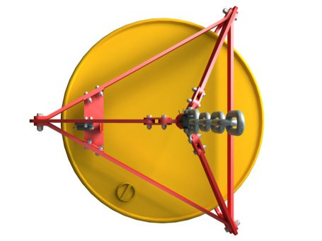 Drum lifting clamp 2D DWG