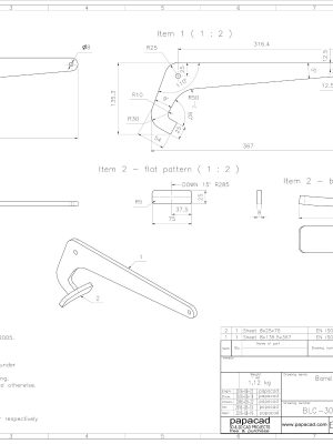 CAD drawings mechanical
