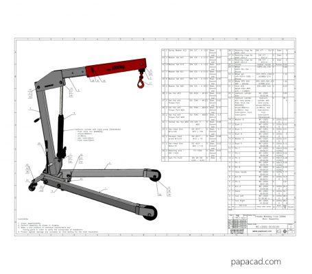 DIY Hydraulic crane project
