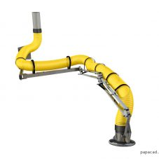 extraction arm design 3d model