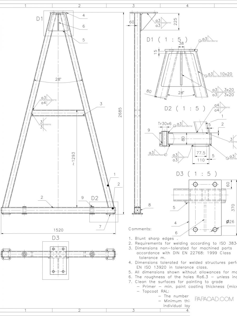 Free download CAD drawings construction