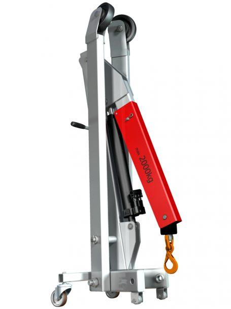 Workshop Crane design CAD 3D and 2D complete project