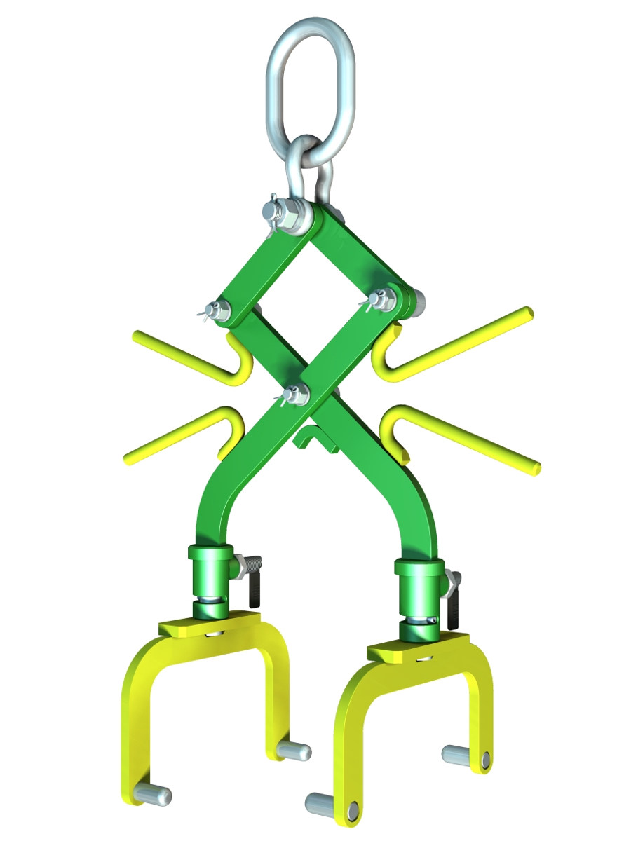 Free CAD Drawings - Scissor Sling - 3D CAD models free download