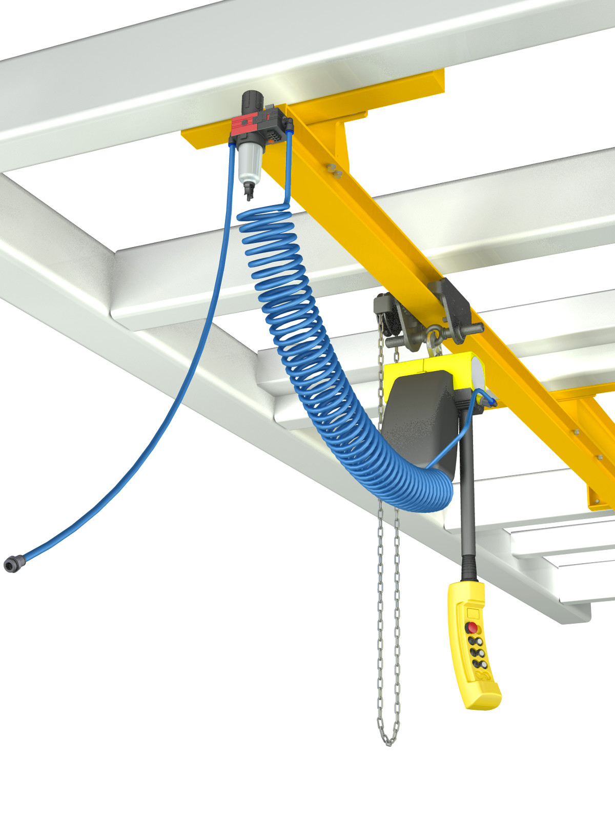 Overhead Crane Autocad Drawing : Bridge crane cad project download d inventor models