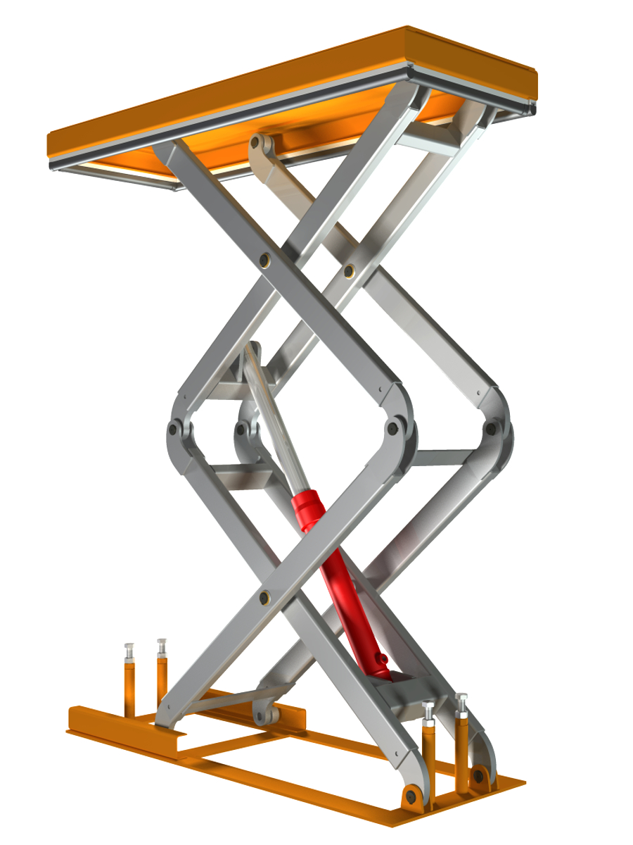 Scissor Lift Mechanism Design : Diy scissor lift do it your self