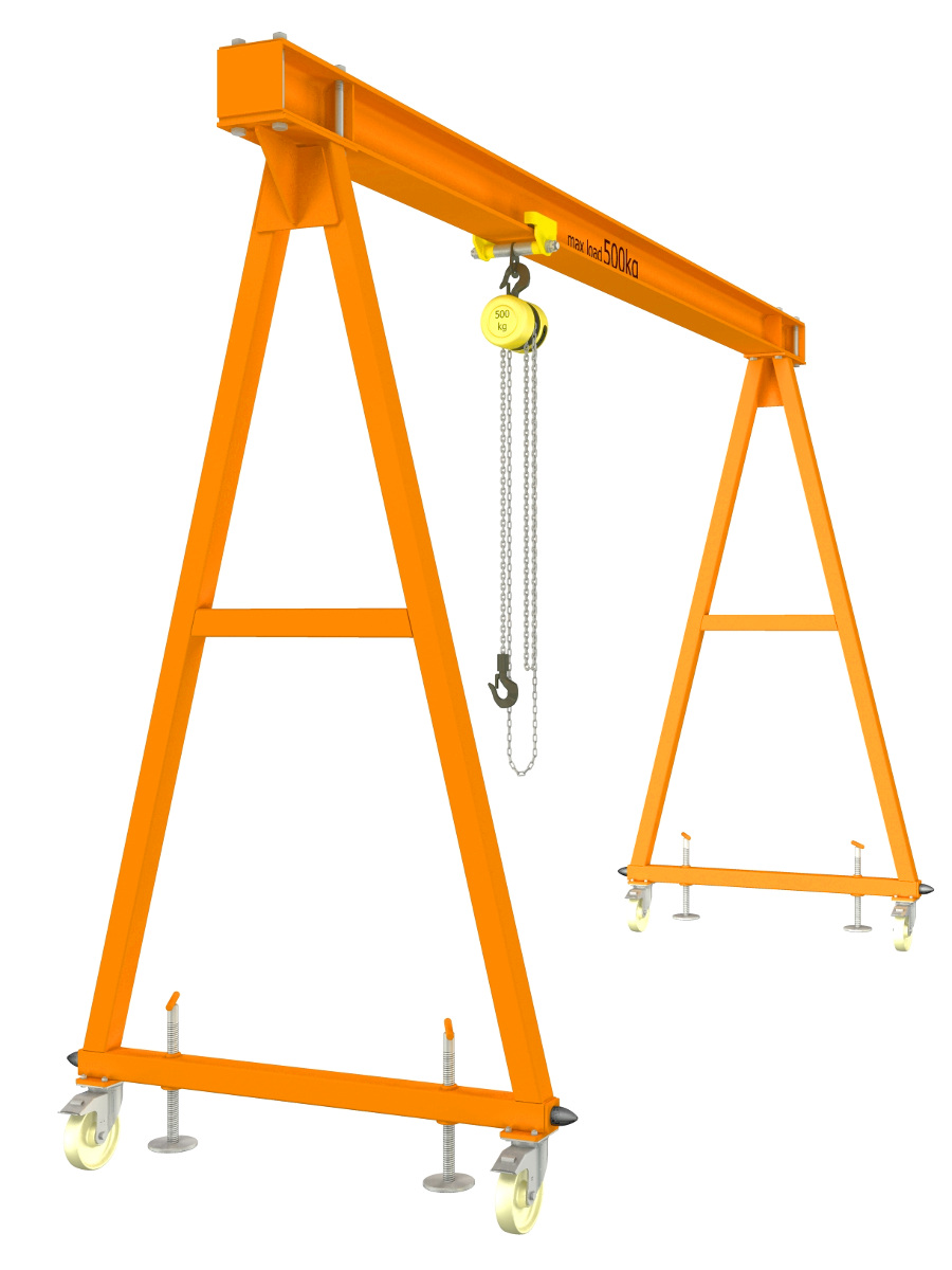 Gantry Crane Plans Homemade Gantry Crane Cad Project