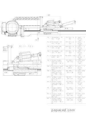 Engineering drawings - 2D CAD draiwngs