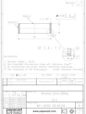 DIY Workshop Crane