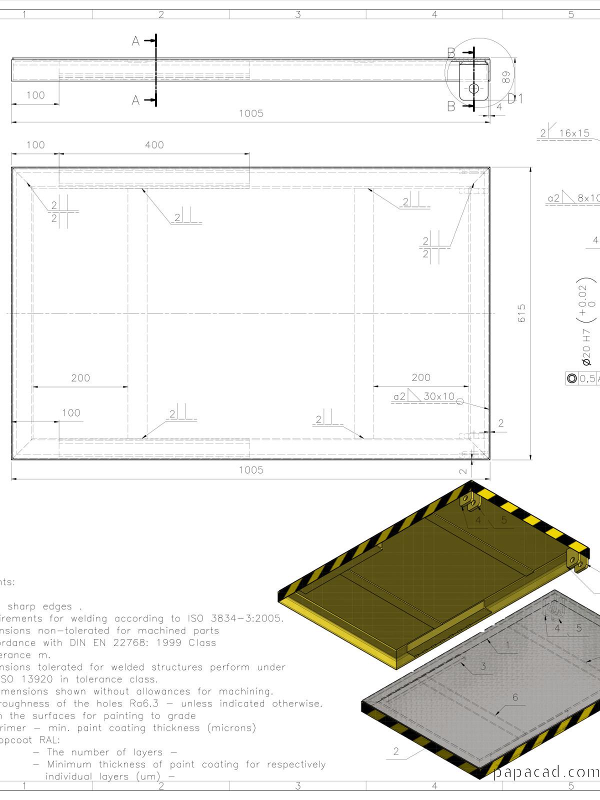 Diy Scissor Lift Table Download 3d And 2d Cad Complete