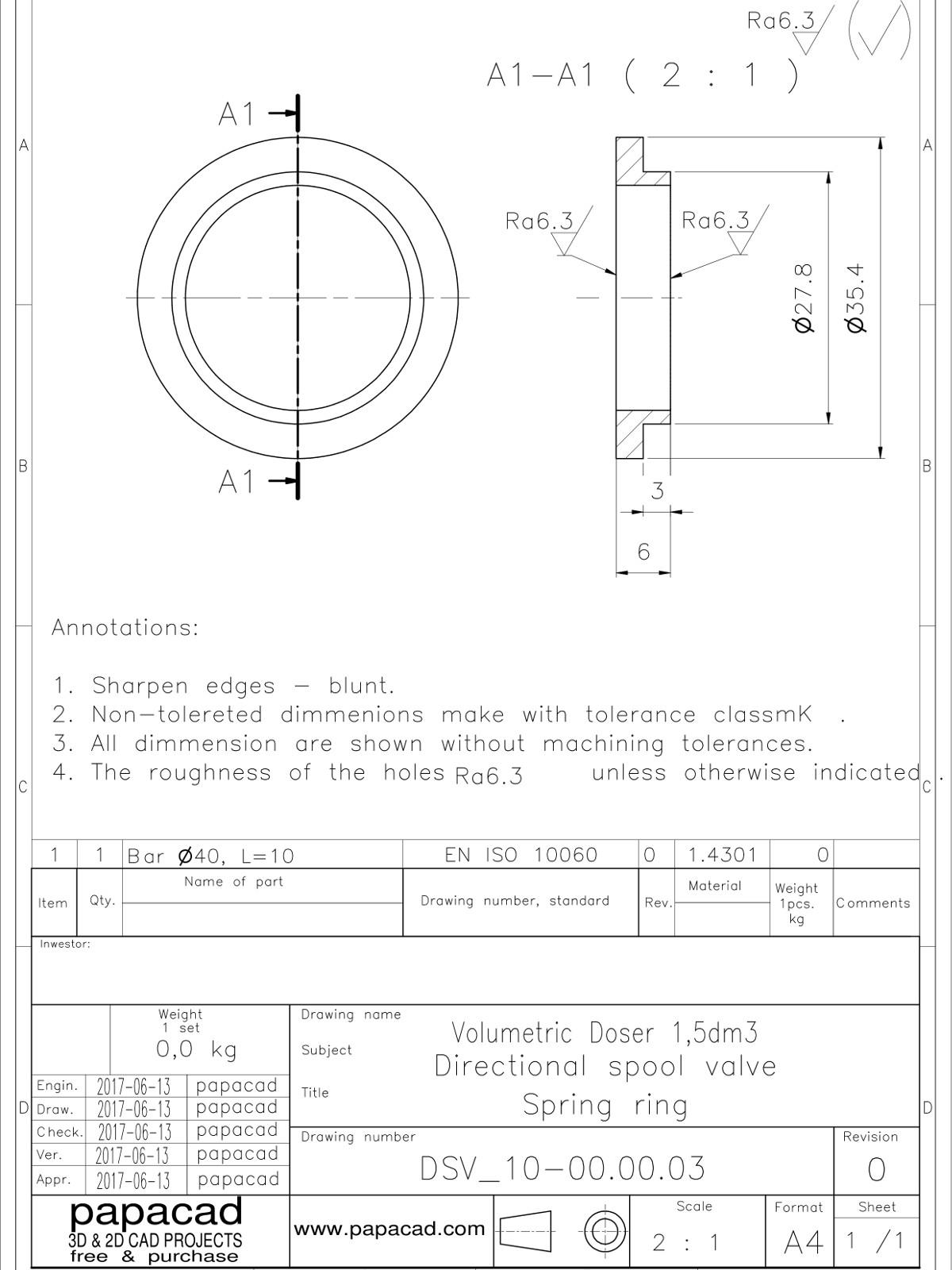 Valve 2D DWG drawings