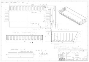 Sheet metal CAD drawings