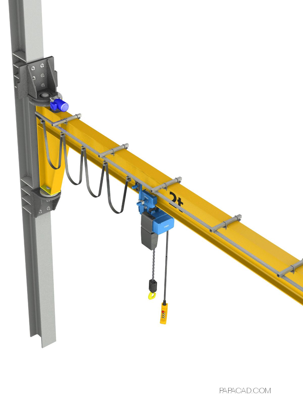 Motorized Wall Mounted Jib Crane : Lorry crane load chart