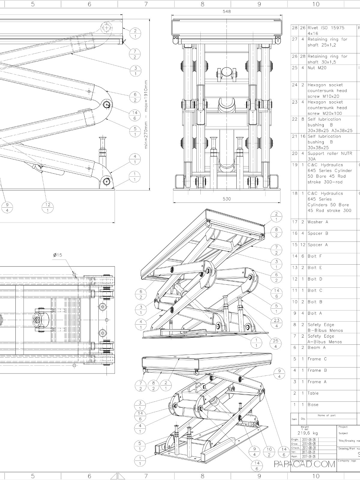 Diy car scissor lift plans do it your self Car lift plans