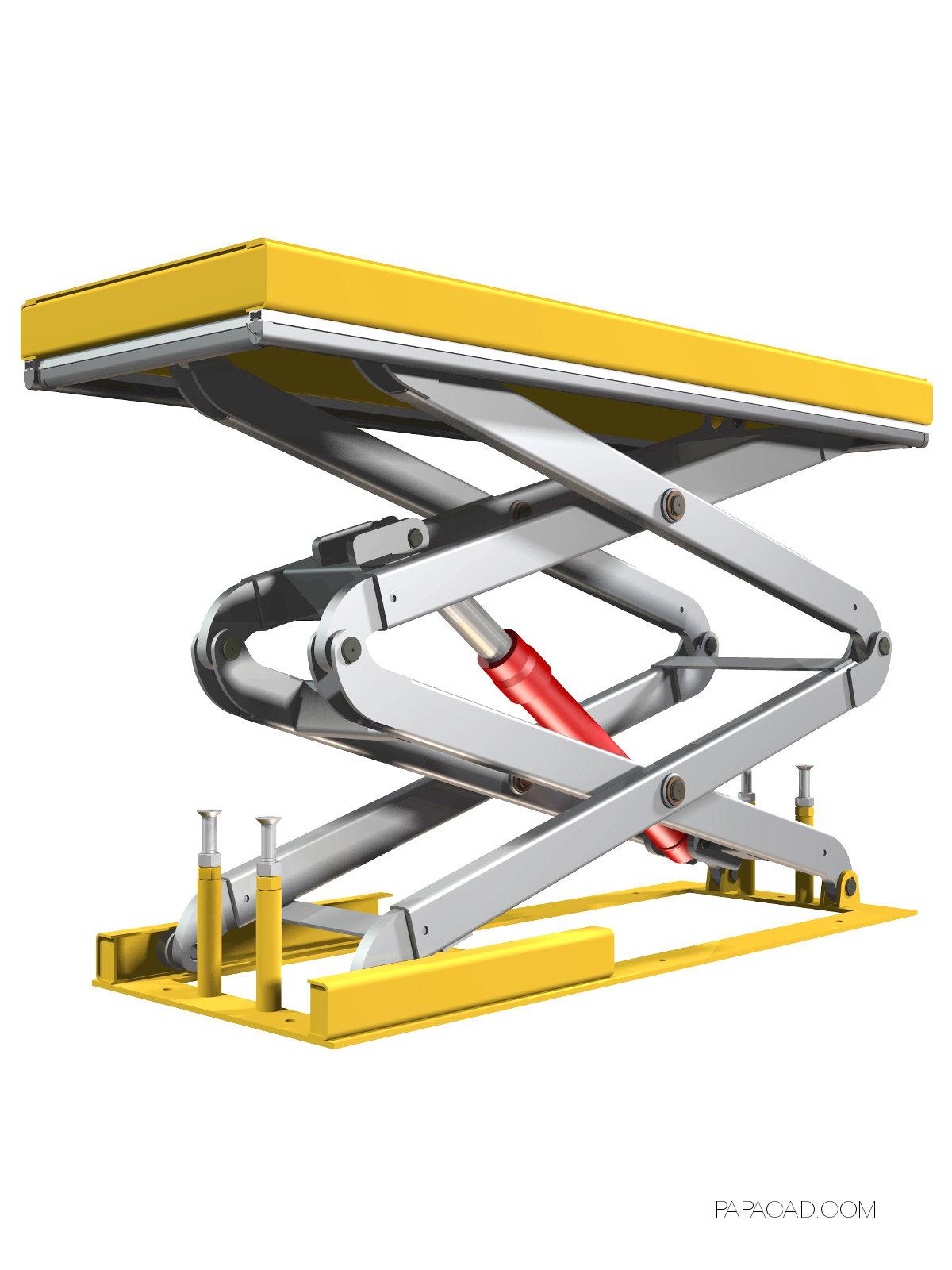Scissor lift table plans