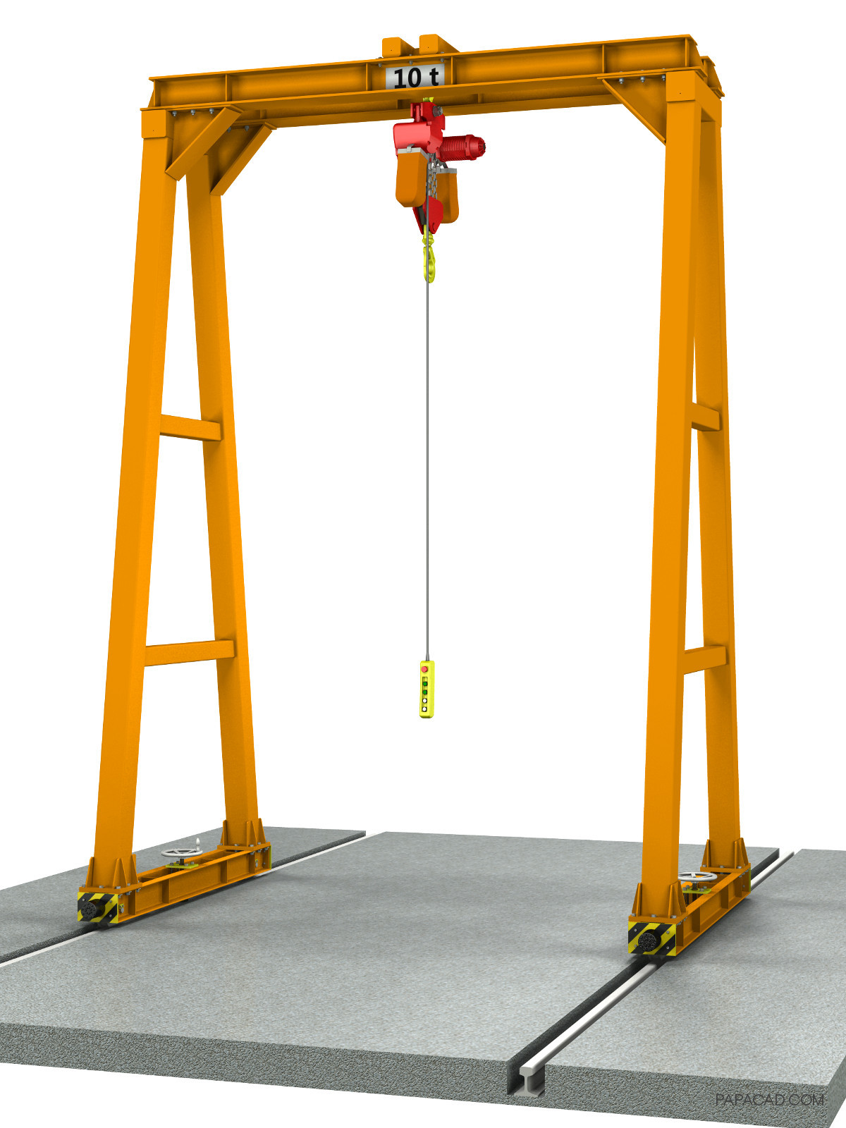 10t DIY Gantry crane