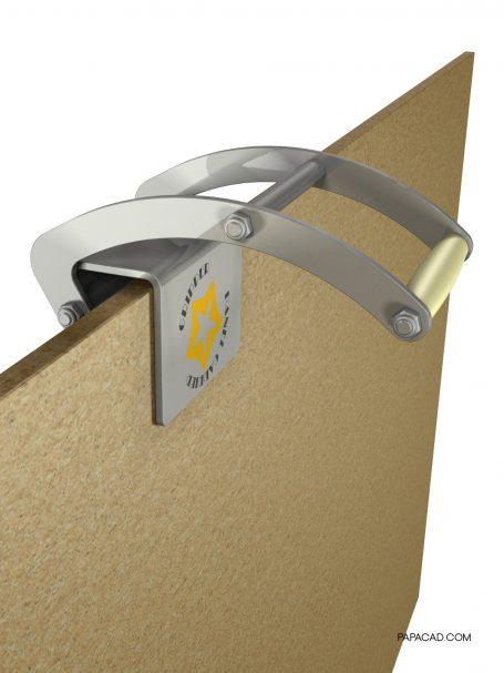 CAD design Gripper Panel carrier 3D drawings