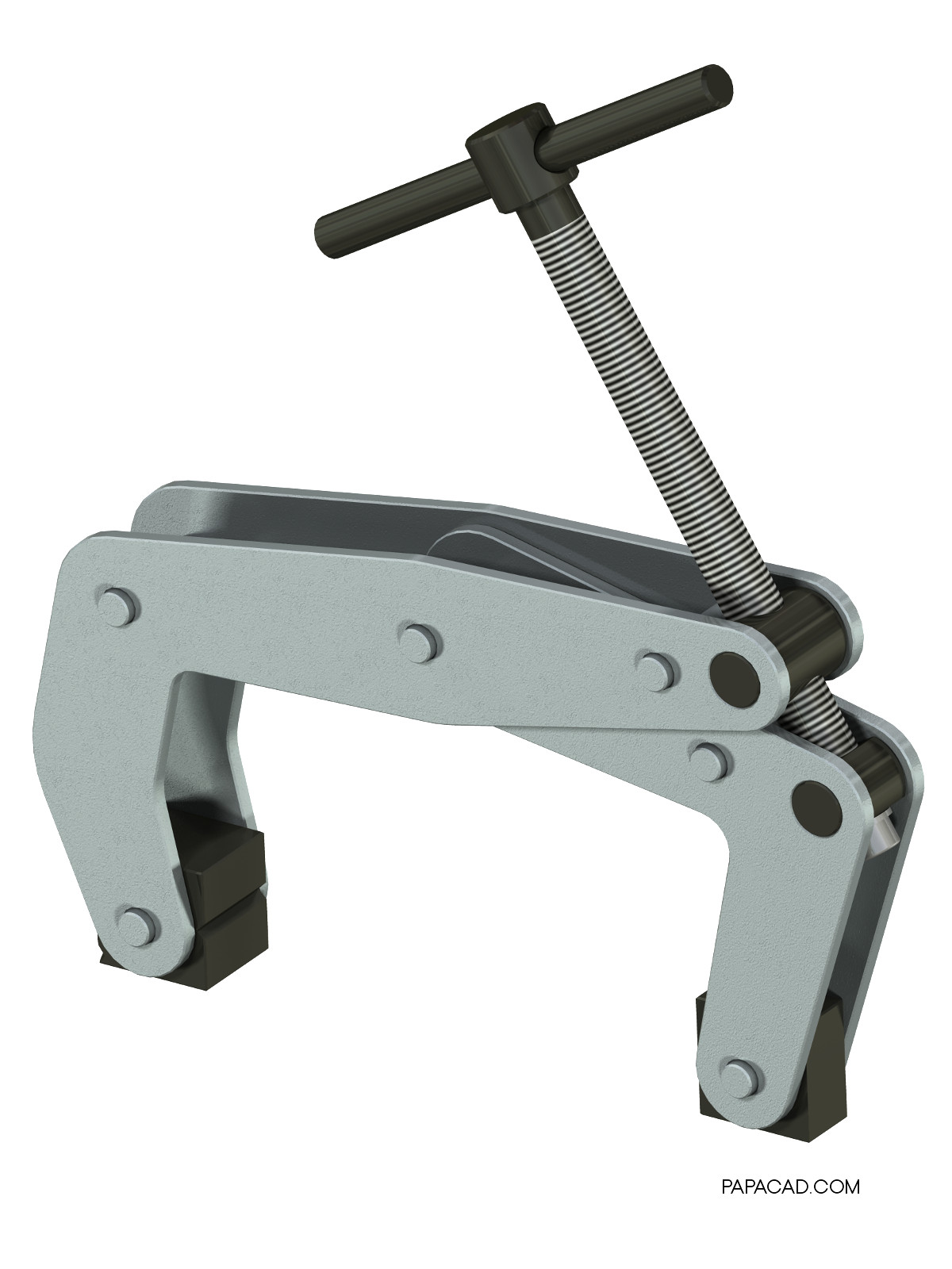 Kant Twist Clamp 3D CAD design
