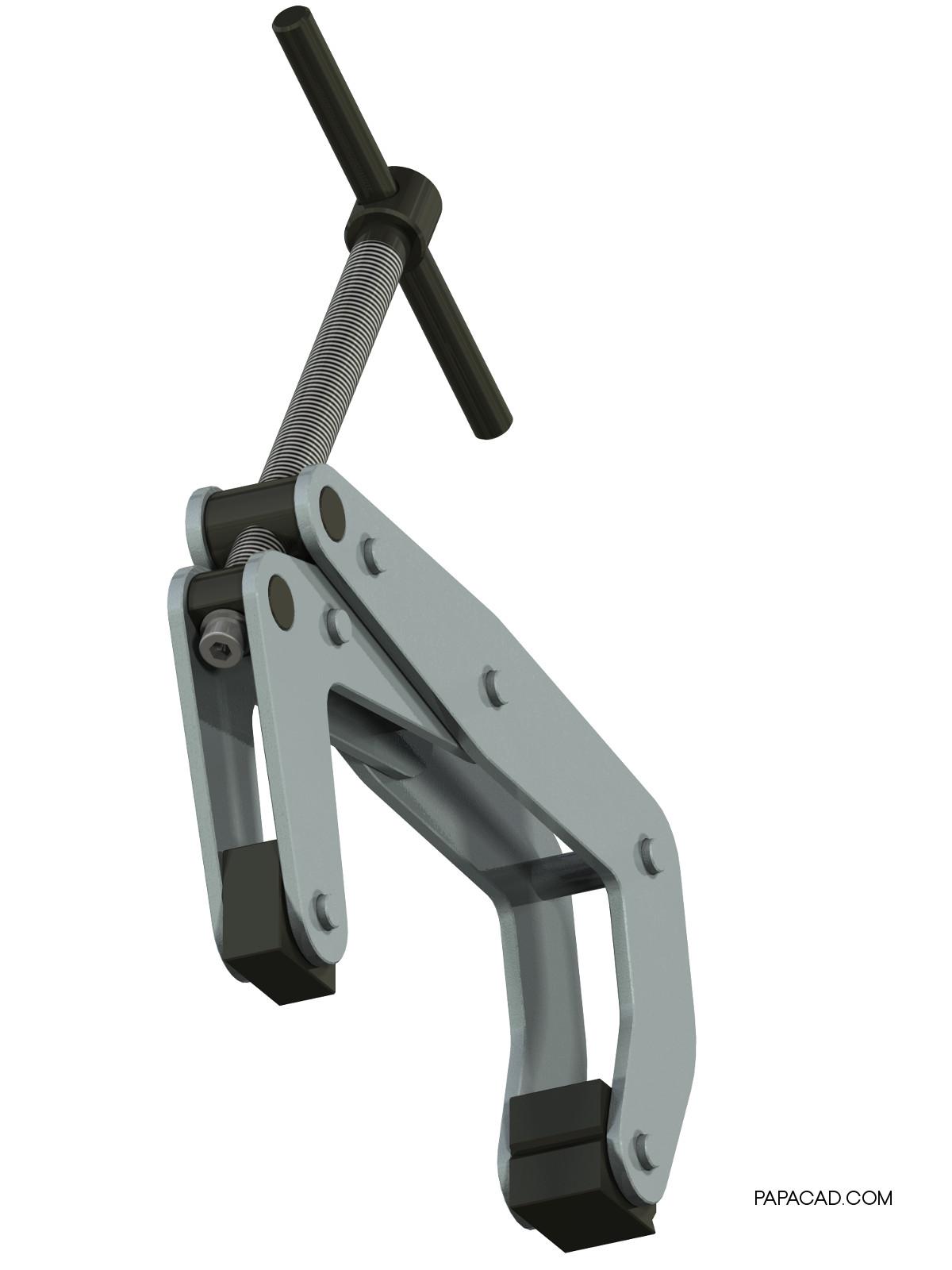 Kant Twist Clamp CAD design