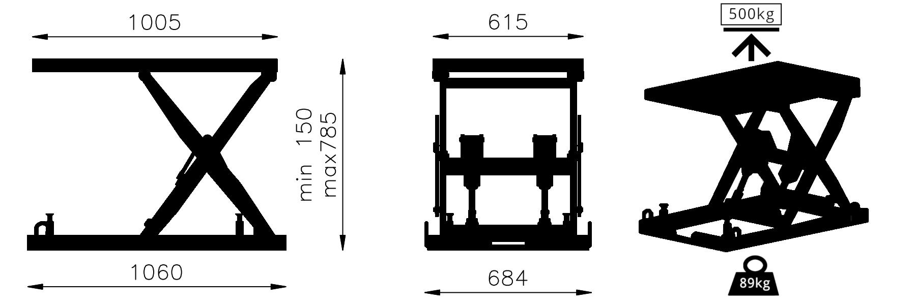 Lift Cad Model