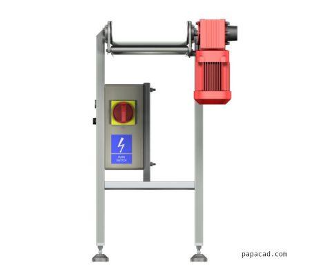 Conveyor belt 3D models from papacad.com