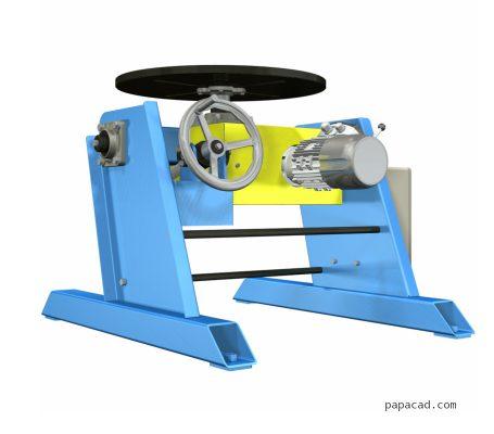 welding positioner design