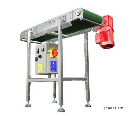 DIY conveyor belt download free CAD project from papacad.com