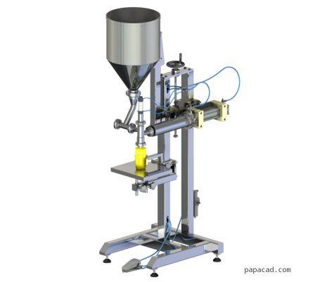 DIY volumetric feeder