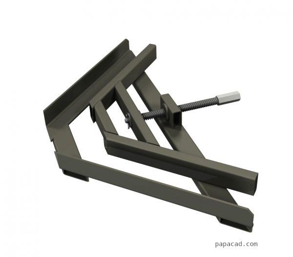Design of welding clamp