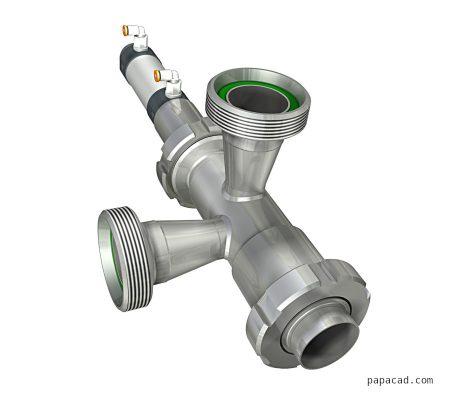 Dosing valve design papacad