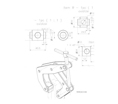 Kant clamp blueprint
