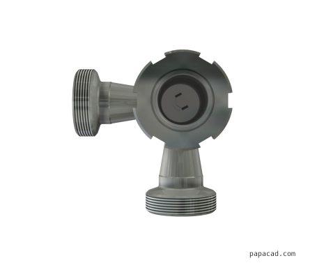 Pneumatic feeder valve design