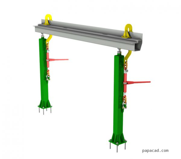 Ratchet chain tensioner design from papacad.com