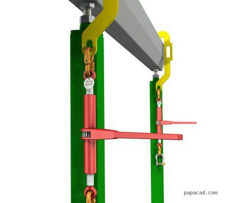 Ratchet tensioner DIY