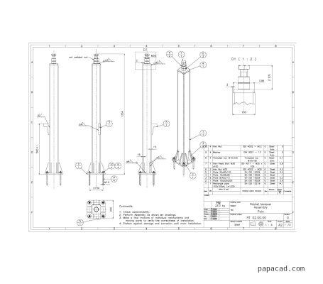 Ratchet tensioner download drawings