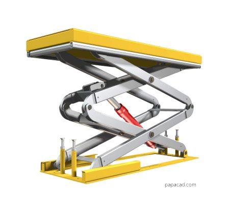 Scissor Table Lift design