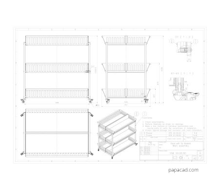 2d cad drawings free download from papacad.com