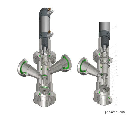 Volumetric feeder valve papacad.com