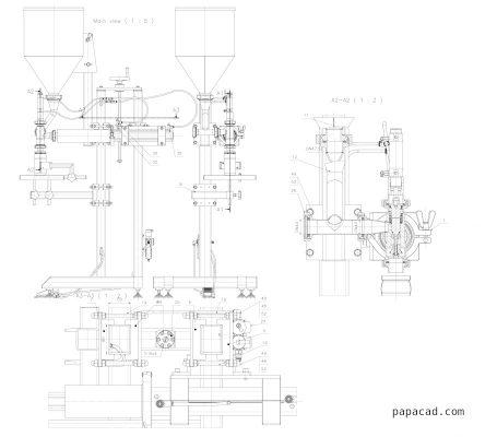 pneumatic feeder cad drawings