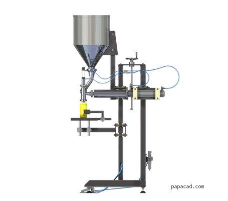 volumetric filling machine design