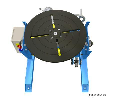 welding positioner plans