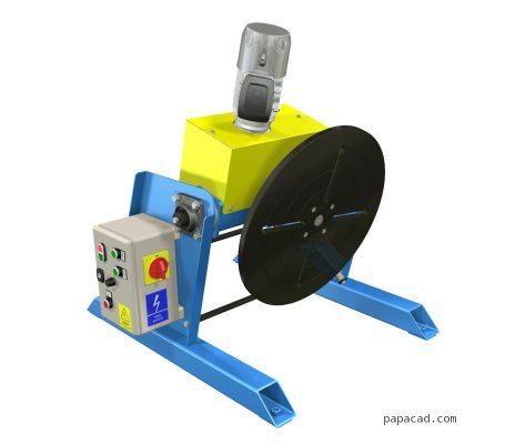 welding turntable design