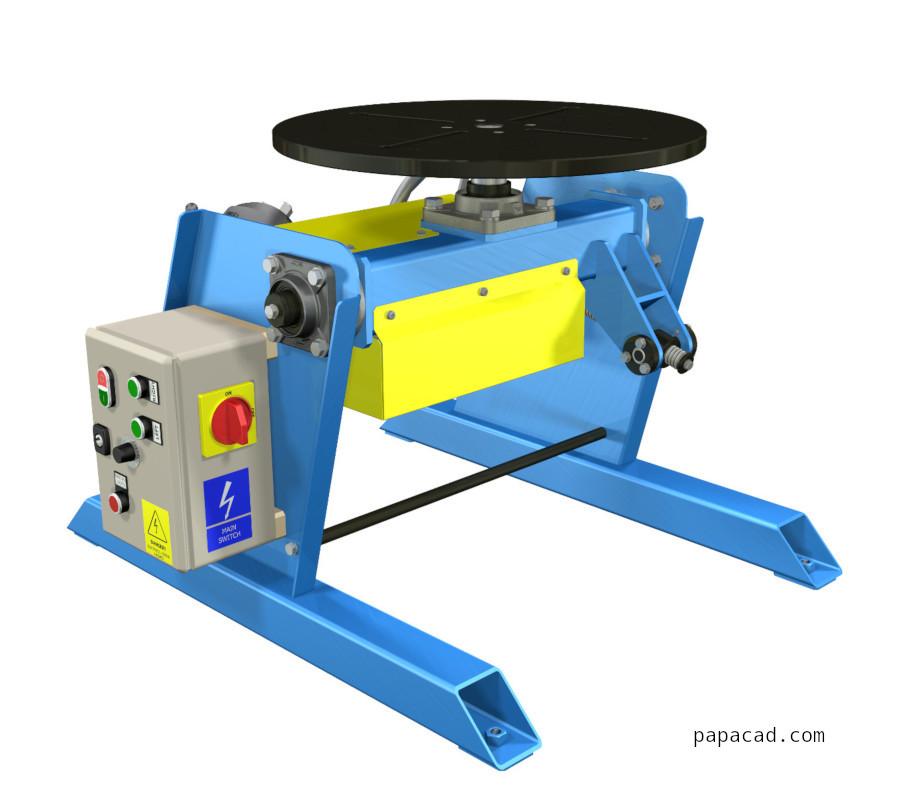 Welding positioner DIY - Welding