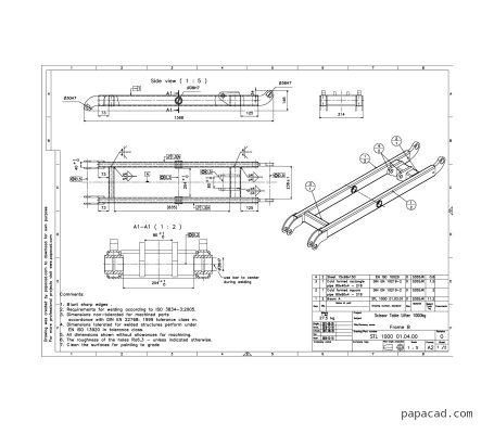DIY Scissor table lift plans