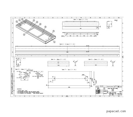 Design of scissor table lifter