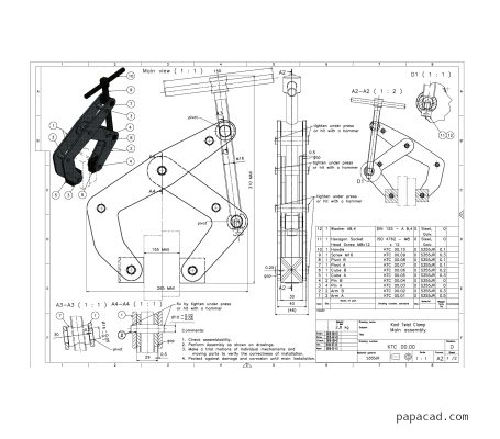 Kant Twist clamp plans PDF for manufacturing