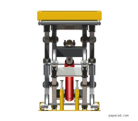 Scissor lifter CAD models